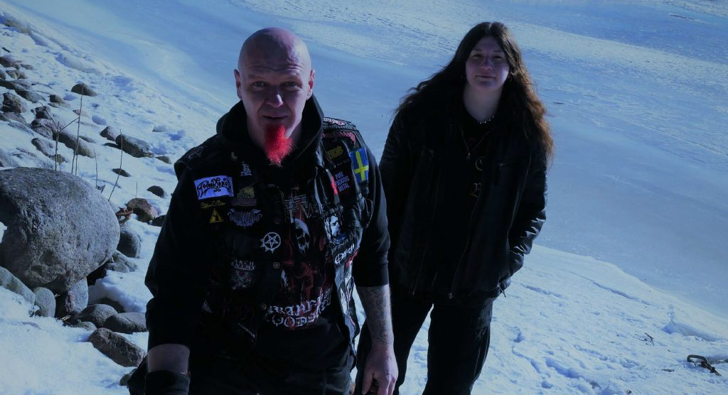 Black-Coven Melodic Death Metal Band shooting-Finland